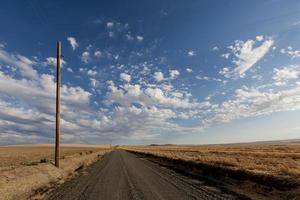 route vers palouse