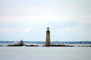 Phare du port de Boston, New England, USA photo