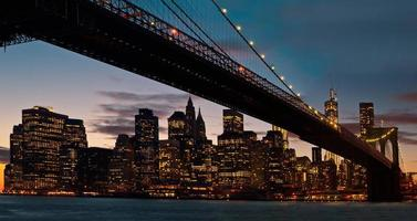 pont de brooklyn, new york city photo