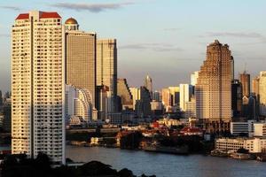ligne de ciel de Bangkok photo