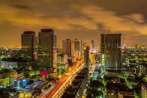 skyline à bangkok. photo