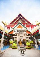 temple à bangkok, thaïlande