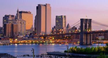 Lower Manhattan skyline photo