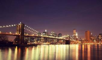 la ville de New York. photo