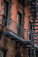 escalier de la ville de new york photo