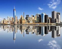 la partie basse de Manhattan photo