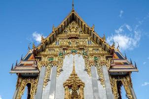 temple à bangkok en Thaïlande avec de beaux arts. photo