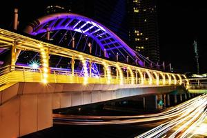 bts brt sky bridge bangkok thaïlande photo