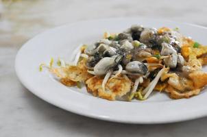 crêpe aux huîtres photo
