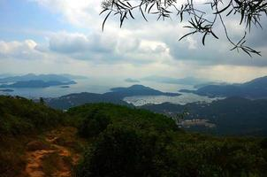 vue panoramique sur campagne
