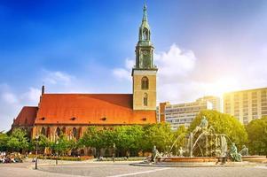 st. Église de Marie (Marienkirche) à Berlin photo