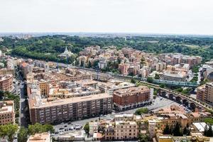 vue d'ensemble de rome photo