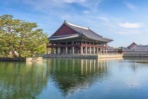 Palais de Gyeongbokgung à Séoul, Corée du Sud