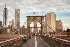 pont de brooklyn, new york, usa photo