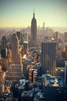gratte-ciel de new york city photo
