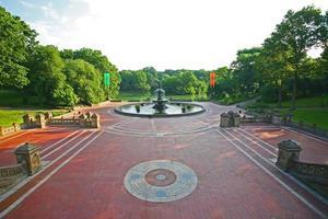 terrasse bethesda, central park, new york