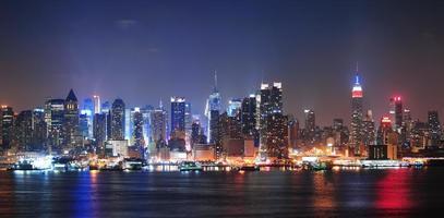 new york city manhattan midtown skyline photo