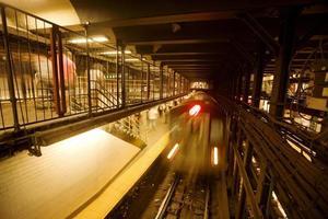train à new york city