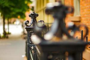 clôture de village ouest photo