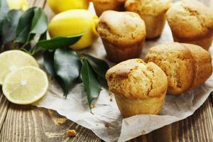 muffins au citron maison photo