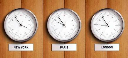 fuseau horaire 1 photo