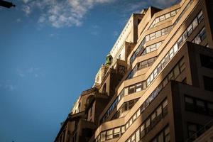 nouvelles rues de la ville de yourk photo