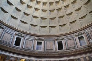 Pantheon oculus à Rome, Italie. photo