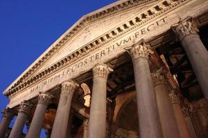 panthéon rome photo