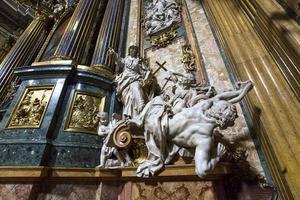 église du gesu, rome, italie