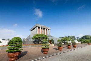 le mausolée de ho chi minh. vietnam photo