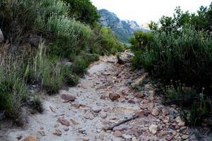 chemin rocheux vers la liberté photo