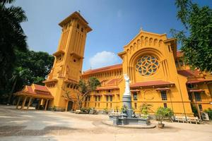 église de notre dame de hanoi photo
