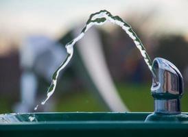 Fontaine d'eau photo