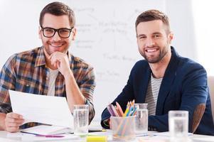 collègues créatifs. photo