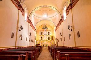 intérieur de la mission san jose photo