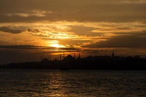 Skyline d'Istanbul
