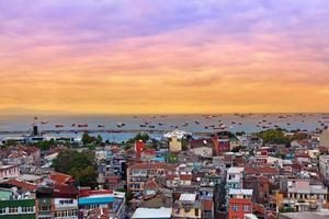 coucher de soleil istanbul photo