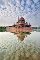 réflexion putra mosque, putrajaya, kuala lumpur photo