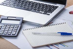 calcul de l'activité financière photo