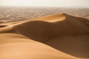 dunes dans le désert photo