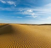 Dunes du désert de Thar, Rajasthan, Inde photo