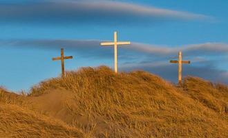 calvaire de la colline de sable photo