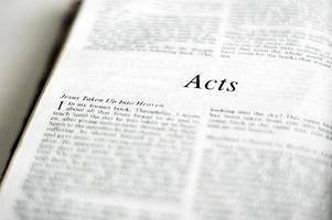 livre des actes dans la bible