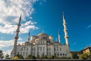 mosquée bleue d'istanbul photo