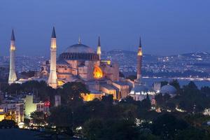 mosquée bleue et hagia sophia