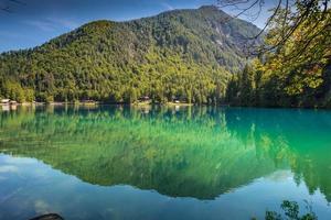 lago di fusine - lac mangart en été