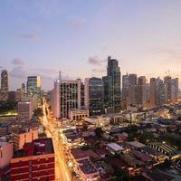 Makati skyline (metro manila) photo