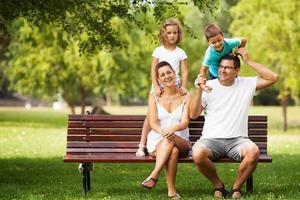 du temps en famille photo