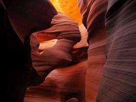 canyon des antilopes inférieures photo