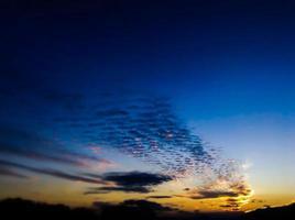 coucher de soleil des Bermudes